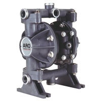 ARO Compact Diaphragm Pumps, ARO, non-metallic compact diaphragm pumps, metallic compact diaphragm pumps