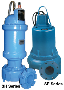 Barnes, Non Clog, Solids Handling, Submersible Pumps