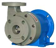 Warrender, MCH Series, Thermoplastic, Horizontal, Centrifugal, Seal-Less, Mag-Drive Pumps