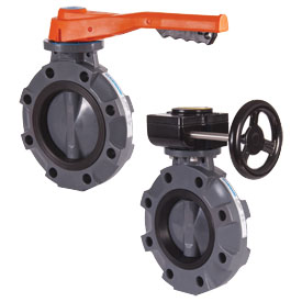 Butterfly Valves, Actuator Mounting
