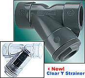 Plastic Y Strainers